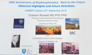Talk by Dr Graham Russell